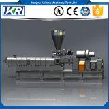 (Co-Rotación) máquina plástica de la protuberancia del gránulo del Gemelo-Tornillo paralelo/tela de nylon plástica que hace la máquina del estirador de tornillo doble
