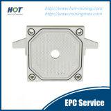 Plaque automatique de filtre-presse de chambre de la vente directe pp d'usine