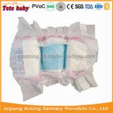 Couche adulte bon marché de couche-culotte de bébé estampée bon par modèle de constructeur de couche-culotte de bébé