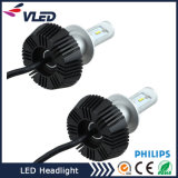 kit H4 9004 del faro dell'automobile dell'automobile LED Headilght LED di alto potere di 6s Fanless H7 9007 H13 P Hilips o E Dison LED