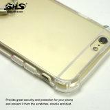 Configuration acrylique de gradient avec le cas de téléphone mobile de support de téléphone