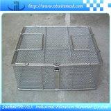 Cestino Heat-Resisting della rete metallica dell'acciaio inossidabile