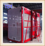 Tdt 36m / Min Double Cage Construction Machinery (SC120 / 120)