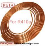 Tubo de la crepe del cobre de la refrigeración de ASTM B88