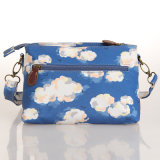 Sac imperméable PVC Canvas White Clouds Patterns (99199)