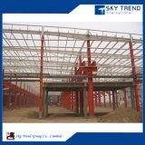 Fabbricati industriali magazzino ed ufficio prefabbricati del blocco per grafici d'acciaio della Cina