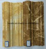 PVC incombustible respetuoso del medio ambiente que moldea para la cornisa del techo