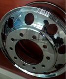 19.5 Geschmiedete Aluminiumlegierung-Felgen-LKW-Schlussteil-Räder