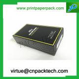 Weinlese kundenspezifischer Zippo verpackender Papiergeschenk-Kasten mit Firmenzeichen