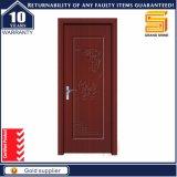 Porte intérieure modèle de vente chaude en bois de PVC de bois de construction