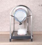 Het Rek van het Afdruiprek van de Plaat van de Houder van de Schotel van het Keukengerei van het roestvrij staal (604)