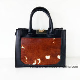 Guangzhou-Lieferanten-Form-Dame Fur Leather Handbags (NMDK-052201)