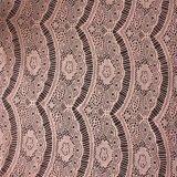 Tessuto nuziale indiano del merletto lavorato a maglia filo di ordito del poliestere