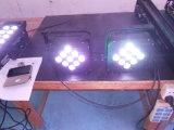 LED는 건전지 5-6hours를 가진 PAR/Stage 가벼운 7*10W RGBW 4in1 다색 LED 동위를 땋는다
