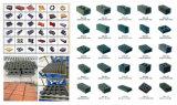 機械を作る機械/Brickを形づける建築材料機械ブロック