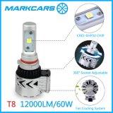 12V alta linterna del lumen 9005 LED en Guangzhou