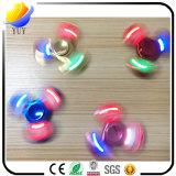 De nieuwe LEIDENE van het Metaal van de Spinner van de Vinger van Producten Ontzagwekkende Lichten friemelen de Prijs van de Fabriek van het Speelgoed van de Hand