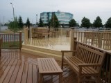 Новый пол Decking здания и конструкционные материал WPC для Countyard и дом с высокой плотностью