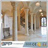 Colunas ocas de pedra de mármore naturais