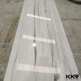 lajes de superfície contínuas acrílicas brancas puras de 6mm