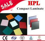 Cubículos laminados compactos del tocador; 12m m HPL