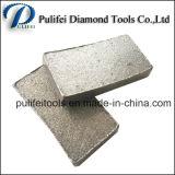 O granito de pedra da estaca do diamante viu o segmento da lâmina para o fabricante do bloco