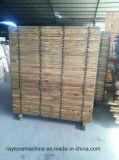 Palette de blocs de briques en bois massif en bois de pin