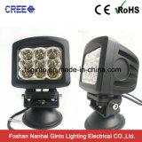 Het hoge Vierkante 90W LEIDENE van Lumen 10W CREE Licht van het Werk (GT1026-90W)