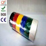 Gelbes Grün-Streifen Belüftung-elektrisches Isolierungs-Band mit niedrigem Preis (0.13mmx19mmx20m)