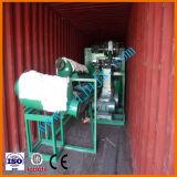 Equipamento de reciclagem de óleo residual por destilação de vácuo para óleo de base