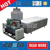Machine de bloc de glace de l'acier inoxydable 304 avec le refroidissement par eau