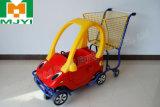 Carrello di plastica di acquisto del bambino dei bambini