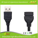 Transparant Mannetje aan Vrouwelijke Kabel USB