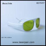 フレーム52が付いているレーザーの安全ガラスの防護眼鏡の740-1100nm Dir Lb5/高品質