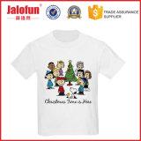 混合されたサイズのシルクスクリーンの印刷を用いるカスタムクリスマスのTシャツ