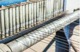 Стренга стального провода 1X7-8.0mm горячего DIP гальванизированная