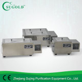 Crisol del agua del laboratorio del acero inoxidable del baño de agua de la temperatura constante del LCD