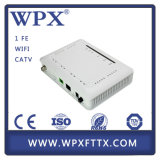 Gigabit Ethernet Triple Play FTTH 1GE GPON CATV ONU