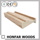 Modanatura di legno del MDF dell'impiallacciatura materiale della decorazione