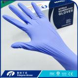 Перчатка устранимой перчатки экзамена нитрила медицинская