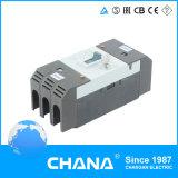 Disjuntor de caixa moldada MCCB de 3 pás 500V 63A de 3 fases