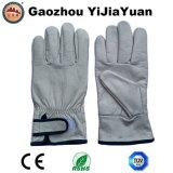 Перчатки кожаный защитной промышленной заварки Cowhid ранга Ab паяя
