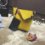 2017 fournisseurs en cuir de vente Sy8134 de la Chine de sacs à main d'unité centrale de qualité de sac d'épaule de couleur solide