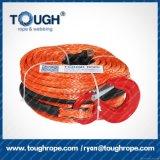 3/8 Kabel van de Kruk van de Vezel '' 100FT Grijze Dyneema met de Koker van het Vingerhoedje van de Haak