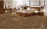 Disegno di legno delle mattonelle di pavimentazione di sguardo della costruzione di stampa moderna del rullo
