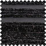 Glänzendes schwarzes Polyester-Nylongewebe der Oberseiten der Frauen