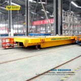 Trole da plataforma de transferência do trilho da carga das cargas pesadas