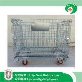 Jaula plegable de la logística para el almacenaje del almacén con la aprobación del Ce