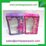 Kundenspezifische Farbe gedruckter Duftstoff-Papierkasten mit Fenster