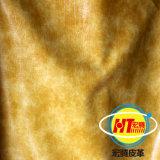 Cuir artificiel de matières premières pour le capitonnage de sofa (1606#)